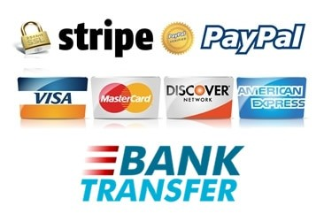 paypal and stripe accepted
